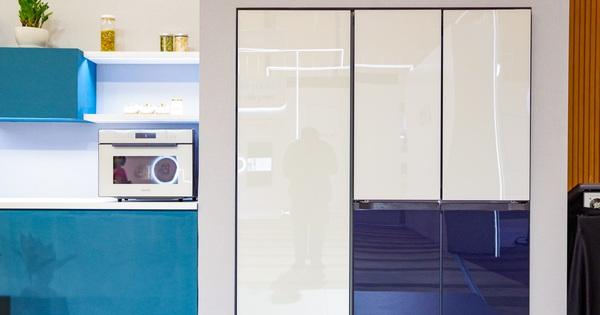 Tủ lạnh giờ nhiều màu sắc, lại còn khả năng lắp ghép như thế này đây
