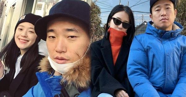 Style thời trang lên hương của bà xã Kang Gary khiến fan khăng khăng đây là idol còn 'Mực ca' chỉ là quản lý!