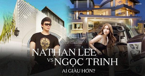 Gia tài Nathan Lee - Ngọc Trinh: Bên có từ villa Beverly Hills 12.000m2 đến bạch dinh 600 tỷ, bên 'yêu nữ đồ hiệu' nức tiếng Vbiz