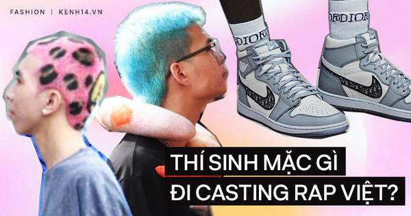 Thí sinh đi casting Rap Việt mặc gì: Nguyên 1 bảng ''ca - ta - lô'' màu tóc nhuộm, có chàng thẳng thắn khoe luôn đôi Dior fake!