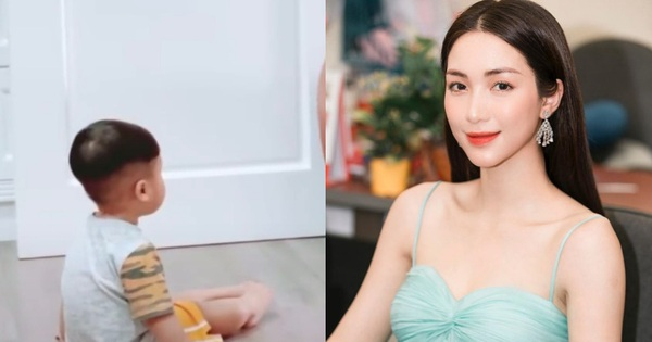 Hòa Minzy khoe khoảnh khắc dạy con trai Bo tập hát,...