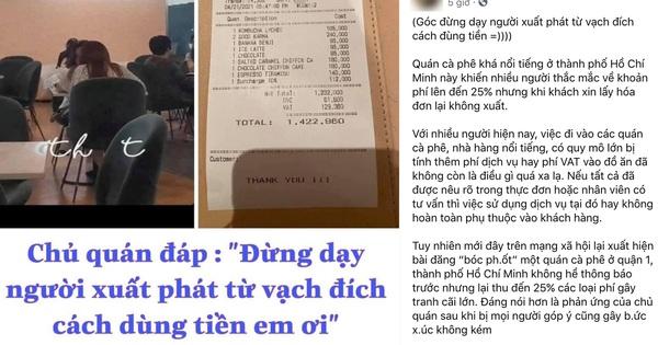 Quán cà phê nổi tiếng Sài Gòn bị tố thái độ ''đừng dạy người xuất phát từ vạch đích cách dùng tiền'': Đại diện phản pháo thế nào?