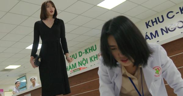 Cả gan giật chồng, Châu tiểu tam bị đánh ghen sấp mặt giữa bệnh viện ở Cây Táo Nở Hoa tập 10