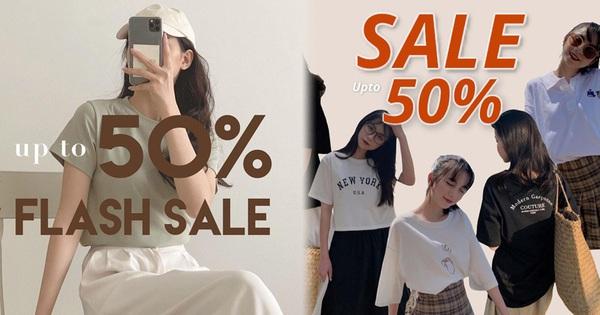 Loạt shop thời trang hot sale đẫm 4/4: Giảm đến 75%, cực nhiều đồ xinh