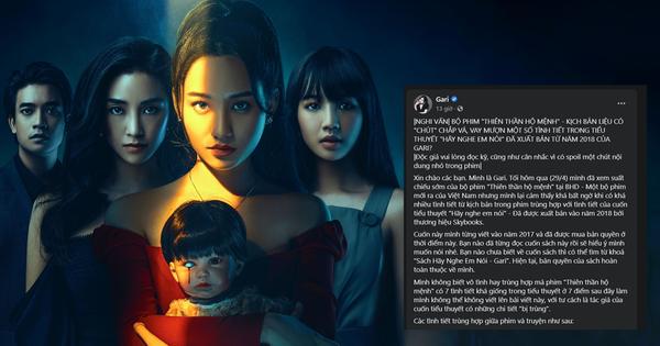"""Thiên Thần Hộ Mệnh của Victor Vũ dính nghi án """"đạo nhái"""" một tiểu thuyết Việt Nam?"""