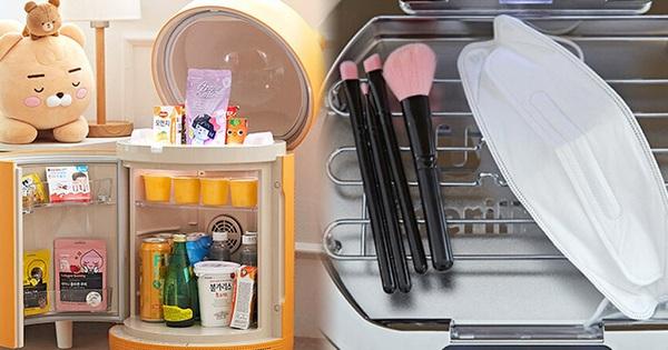 Tủ lạnh 'nhỏ mà có võ' của Kakao Friends: Đã xinh xỉu còn đa năng, vừa bảo quản đồ vừa là loa Bluetooth