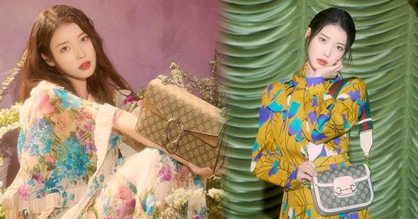 IU diện đồ Gucci và nhận loạt lời cay đắng từ netizen: 'Giống mấy bạn hot girl mạng cố học đòi diện hàng hiệu!'