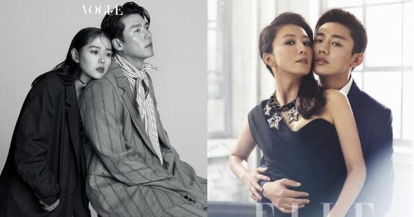 Top ảnh tạp chí đôi đẹp nhất xứ Hàn: Sốc nặng 'bàn tay hư' Yoo Ah In đặt lên body bà cả Thế Giới Hôn Nhân, Hyun Bin - Son Ye Jin đúng huyền thoại