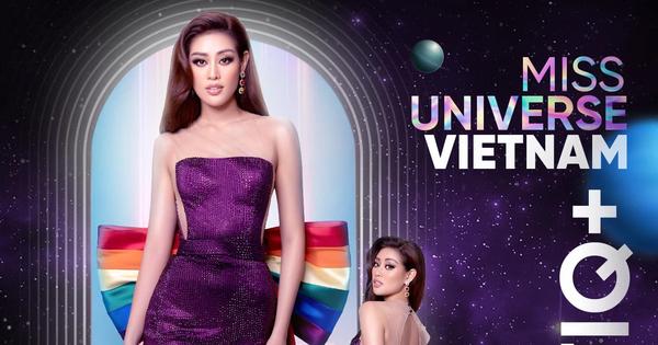 Khánh Vân mặc bộ đầm lục sắc ủng hộ cộng đồng LGBT nhưng đành phải thay ra vì 1 lý do!