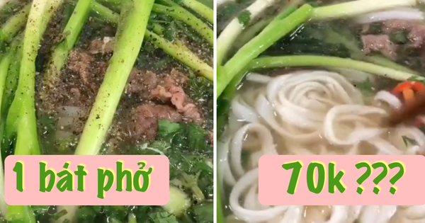 Một TikToker phàn nàn hàng phở nổi tiếng ở Hà Nội lên giá 70k/ bát 'đắt lòi' ăn không nổi, thực hư thế nào?