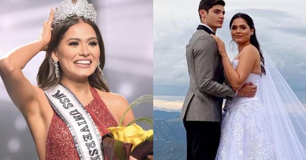 NÓNG: Miss Universe 2020 vừa đăng quang đã bị tố vi phạm luật thi vì kết hôn 2 năm trước, thực hư ra sao?