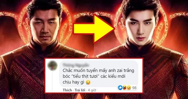 Shang-Chi của Marvel bị khán giả Trung chê bai vì không 'đẹp chuẩn nam thần', netizen Việt tức tối: 'Muốn kẻ chân mày rồi đánh võ hay gì?'