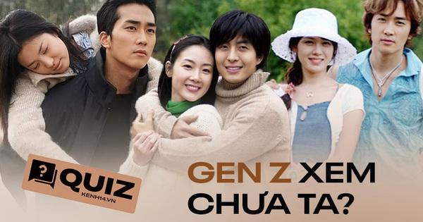 QUIZ: Gen Z biết hết loạt phim Hàn huyền thoại này là Gen Z từng trải!