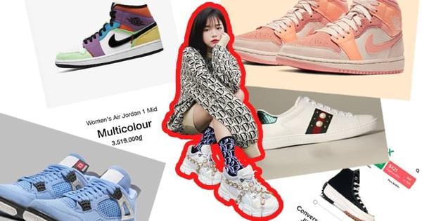 Linh Ngọc Đàm lại tiếp tục 'nướng tiền' vào sneaker, fan chắc sẽ ghen tị lắm với bộ sưu tập giày 'khủng' của Đàm tổng!