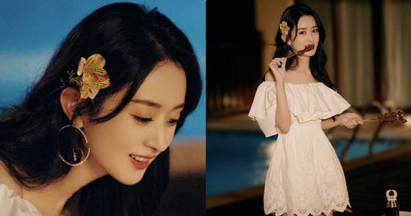 Triệu Lệ Dĩnh bùng nổ visual với bộ ảnh mới, nhan sắc lẫn body đúng chuẩn 'Phụ nữ đẹp nhất khi không thuộc về ai'
