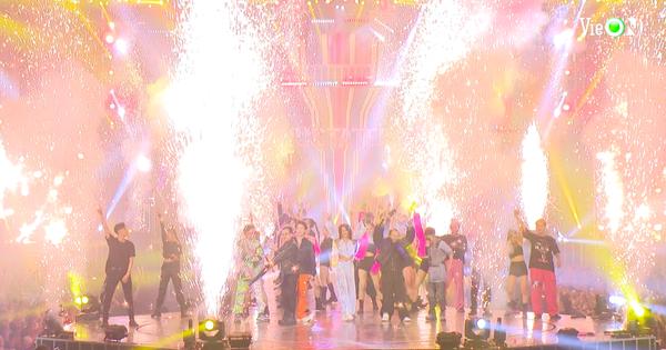 Cuối tuần này đừng đi đâu cả, ở nhà xem Rap Việt All-Star Concert lên sóng là bao vui!