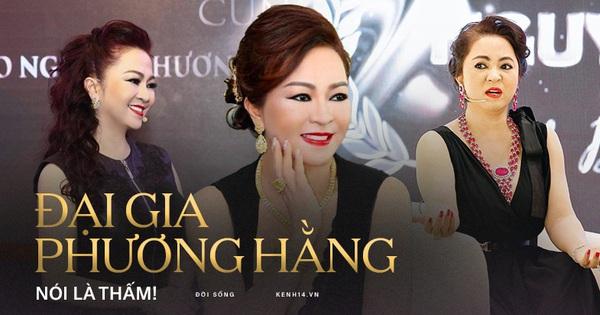 Bà Phương Hằng đeo kim cương hột mít, tuôn một tràng cả chục câu đạo lý: Tôi sẵn sàng bỏ ra 2000 tỷ để mua... chân lý cuộc sống!