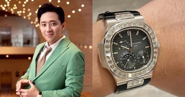 Trấn Thành khoe ảnh đồng hồ mới toanh nhưng netizen nhìn giá xong mà muốn 'tiền đình'