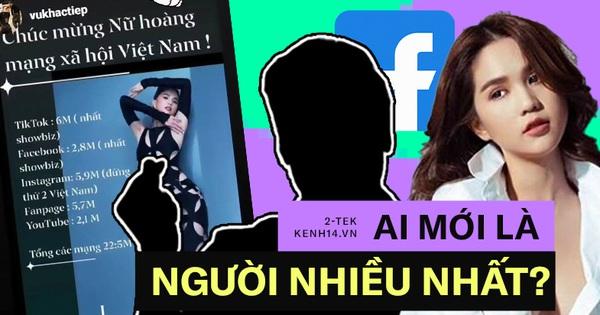 Cứ tưởng Ngọc Trinh sở hữu lượng follower khủng nhất Facebook, hoá ra cái tên này còn khủng hơn thế nữa!
