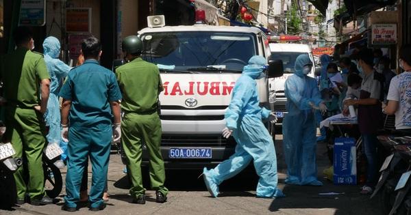 Bệnh nhân Covid-19 ở quận 3 nhiễm biến chủng đang lưu hành ở Đà Nẵng