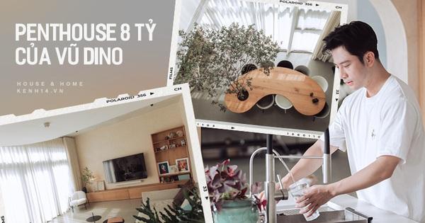 Cận cảnh penthouse 8 tỷ của Vũ Dino: Góc nào cũng chill, sofa hơn 100 triệu khiến khách chỉ muốn... làm biếng