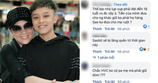 Phi Nhung khẳng định cát-xê của Hồ Văn Cường do quản lý giữ, netizen thắc mắc: 'Bố mẹ em còn đó sao không gửi qua?'
