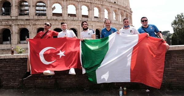 [Trực tiếp từ Italy] Khai mạc Euro 2020: Người hâm mộ đổ về thành Rome
