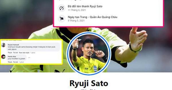 Góc IQ vô cực: Đổi tên page bán hàng online thành tên trọng tài Nhật Bản bắt trận Việt Nam - Malaysia để hút tương tác khủng!