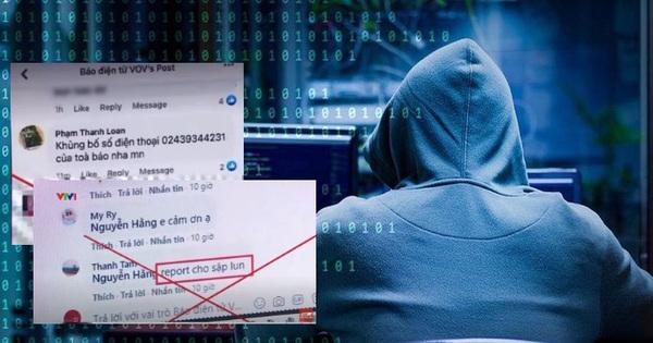 Báo điện tử VOV bị tin tặc tấn công: Phóng viên, nhà báo và cả người thân nhận hàng loạt tin nhắn chửi bới, xúc phạm
