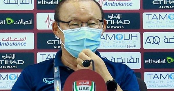 HLV Park Hang-seo: 'UAE là đội bóng số một'