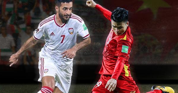 23h45 ngày 15/6, UAE vs Việt Nam: Gặp lại bại tướng đã được... 'update'