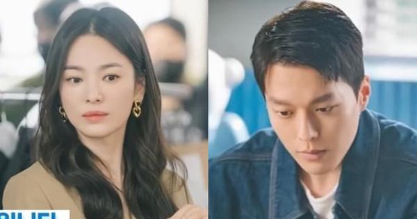 Lộ ảnh Song Hye Kyo đẹp lịm người bên cạnh Jang Ki Yong, anh chị mới nhìn nhau mà chemistry đã bùng nổ rồi
