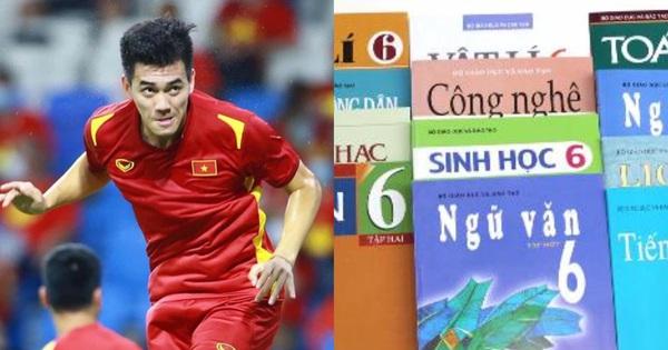 Bàn thắng của Tiến Linh chưa vào SGK ngay nhưng một chiến tích khác của Việt Nam đã chễm chệ vào sách lớp 6 từ lâu rồi đây này