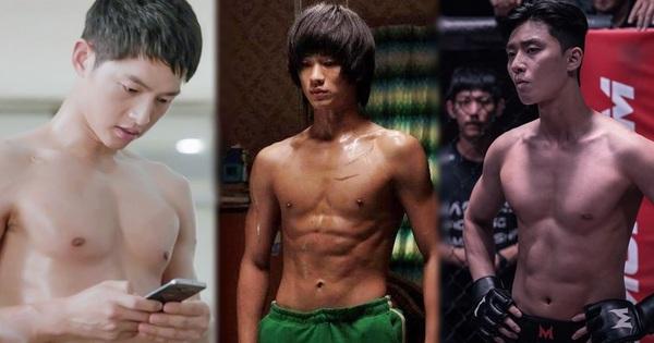 7 màn khoe body siêu ''mlem'' của nam thần màn ảnh Hàn, siêng cởi cỡ Park Seo Joon thì ai chịu cho nổi!
