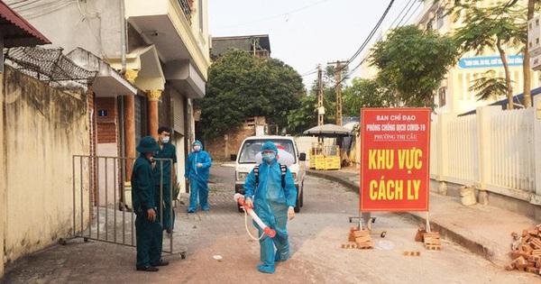 Số ca mắc mới COVID-19 giảm, thành phố Bắc Ninh nới lỏng giãn cách một số khu vực