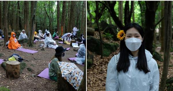 Cuộc thi ngồi 1 chỗ và không làm gì để xả stress ở Hàn Quốc, ai lười nhất thì thắng