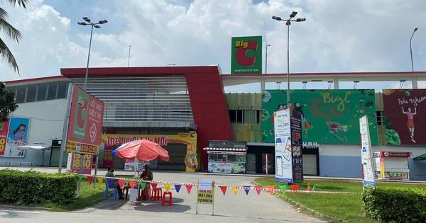 500 nhân viên siêu thị Big C Đồng Nai được sàng lọc để cách ly tập trung vì liên quan BN11669
