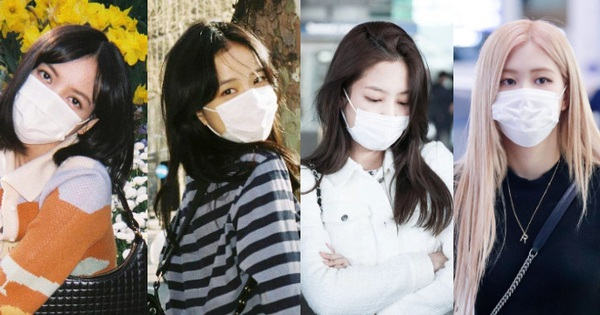 Thước đo nhan sắc mới là khẩu trang, BLACKPINK có 'đỡ' nổi? Jennie - Rosé khí chất đặc biệt, visual Lisa và Jisoo mới bất ngờ