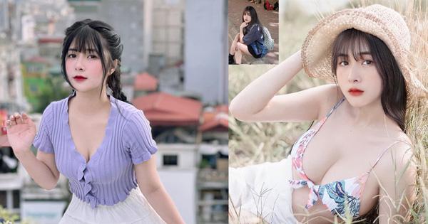 Cộng đồng 'ngớ người' với hình ảnh mới của Quỳnh Alee, tâm điểm chú ý chính là vòng một 'khủng'