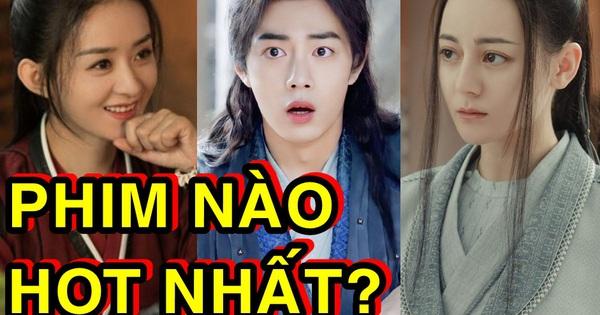 So kè 4 phim Trung hot nhất nửa đầu 2021: Nhiệt Ba - Triệu Lệ Dĩnh giành nhau 'vé' chót bảng, hạng 1 bất khả chiến bại!