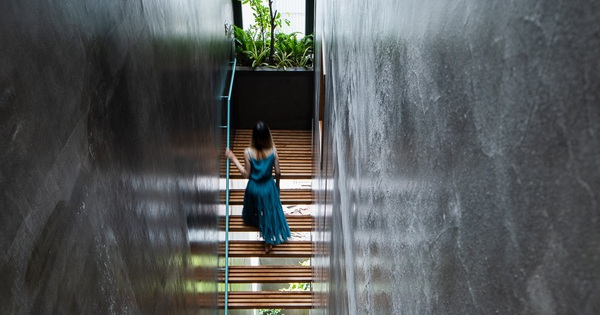 Chịu chơi bỏ hẳn 42m2 diện tích để làm hệ thang lam gỗ, cô chủ 9x có 'nấc thang lên thiên đường' ngay trong nhà
