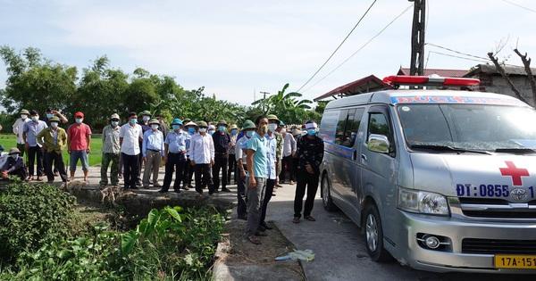 Vụ thảm án rúng động Thái Bình: Kẻ sát nhân vui vẻ, bắt tay hàng xóm trên đường đi đầu thú