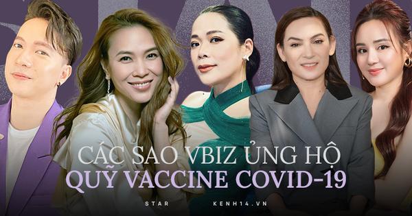 Số tiền ủng hộ của loạt sao Vbiz cho Quỹ vaccine được công khai minh bạch trên web, ai cũng tra cứu được!