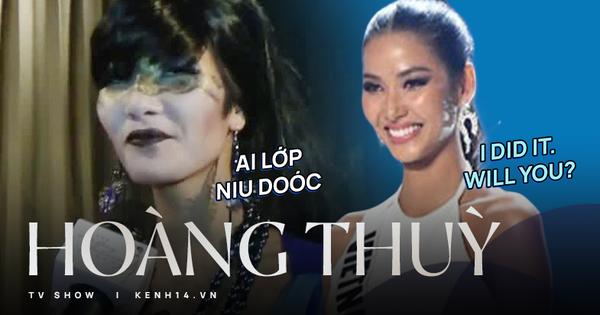 Hoàng Thùy: Từ 'Ai lớp Niu Doóc' đến bắn tiếng Anh 'tằng tằng' trên sân khấu Miss Universe