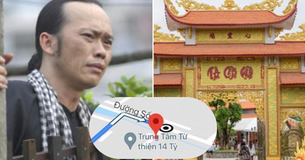 'Đền thờ Tổ nghiệp' của NS Hoài Linh trên ứng dụng Google Maps bị đổi tên thành 'Trung tâm từ thiện 14 tỷ'?