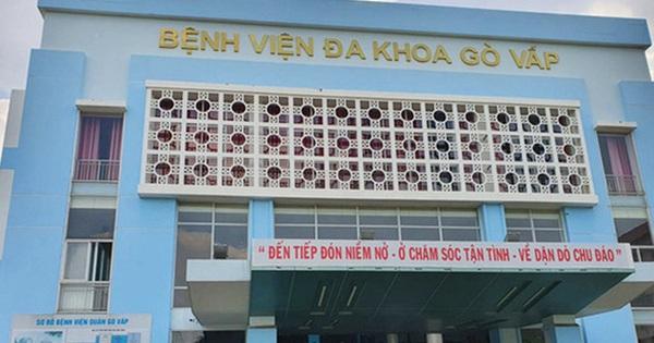 BV quận Gò Vấp tạm ngưng hoạt động khám bệnh ngoại trú vì có ca dương tính SARS-CoV-2 từng đến khám