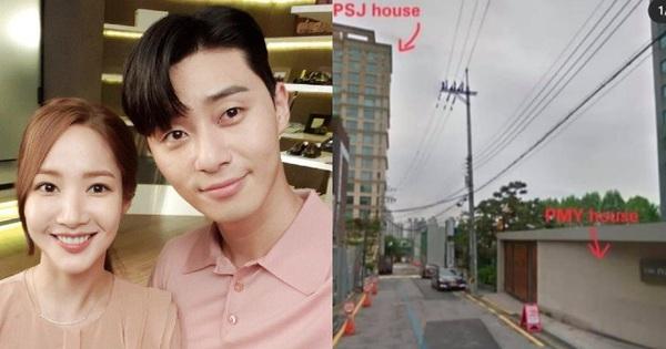 Phát hiện nhà của Park Seo Joon - Park Min Young cách nhau có... 10 mét: Bước chân sang là hẹn hò được còn gì?