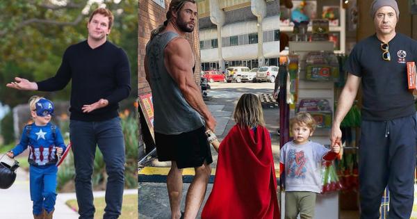Bụt chùa nhà không thiêng: Con trai đòi Iron Man mua đồ chơi Spider-Man, Thor bất lực vì con gái mê... siêu nhân nhà đối thủ