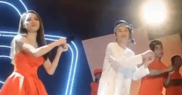 Bên dưới đoạn clip NS Hoài Linh và Hương Giang cùng nhảy với nhau ở hậu trường, netizen có phản ứng đầy bất ngờ