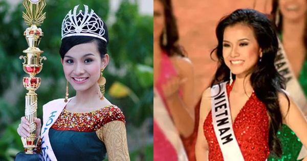 Hoa hậu Hoàn vũ Việt Nam đầu tiên trong lịch sử: Lấy chồng rồi biệt tích hơn 10 năm, giờ có cặp nhóc tỳ nhìn phát mê, quan điểm giáo dục đáng học hỏi